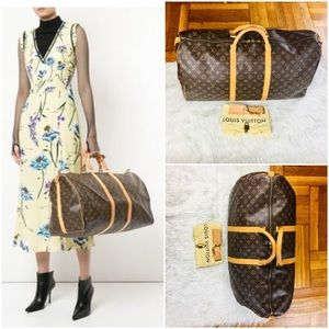 🦋✈️Louis Vuitton Keepall 55 Travel Bag
